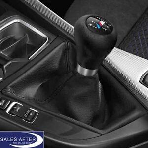 Original BMW F30 F31 F34 GT F32 F33 F36 M Leder Schaltknauf Schaltknopf mit Balg
