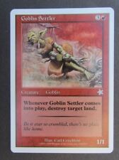 Goblin Settler Starter 1999 Mtg Magic The Gathering single card creature
