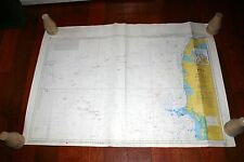 Landfall Navigation Denmark Esbjerg to Hanstholm Offshore Oil & Gas Fields 33x46