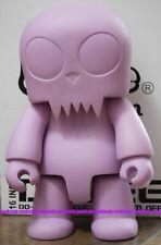 "Toy2R 16"" Big Size Qee DIY Toyer Q Purple GID Ver. vinyl Toys + Kidrobot Bonus"
