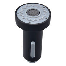 ABS Kitchen Sink Faucet Replacement Pull out Sprayer Head Nozzle Black Color