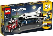 Lego Creator Space Shuttle, Helicopter ,Truck & Trailer 3 in 1 Play Set for Boys