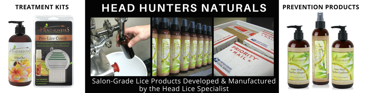 Head Hunters Naturals Lice Products