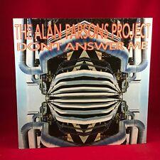 """ALAN PARSON'S PROJECT Don't Answer Me  UK 12"""" vinyl single EXCELLENT CONDITION"""