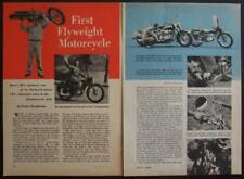 1949 Harley Davidson 125 vintage Road Test w/Spec's review article
