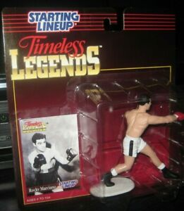 Starting Lineup Rocky Marciano Boxing sports figure 1995 Kenner  SLU Timeless