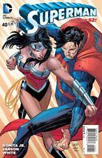 Superman #40 Variant 1st Print Near Mint to NM+ New 52 1:100 Romita Jr Variant
