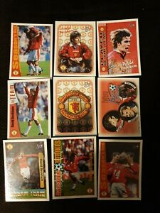 DAVID BECKHAM Futera 8no. 1997/1998  Manchester United Cards