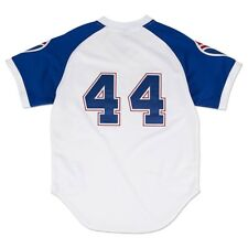 682f4d15d Hank Aaron Atlanta Braves Mitchell & Ness Authentic MLB Vintage 1974 Jersey  Mens XL (48