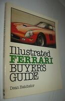 Vintage 1981 Ferrari Illustrated Buyer's Guide Book Dean Batchelor FREE Shipping