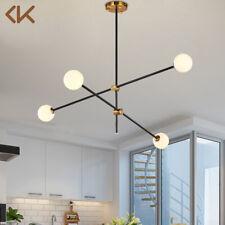 4-Light LED Sputnik Chandelier Haning Light Modern Pendant Lamp Ceiling Fixtures
