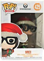 Funko Pop Christmas Mei # 425 Overwatch Games Vinyl Figure Brand New