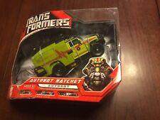 Transformers Voyager Class Autobot Ratchet Movie 2007 Hasbero MISB new