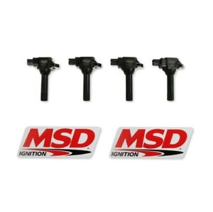 MSD 825443 Blaster Direct Ignition Coil Set For 17 Toyota 86 NEW