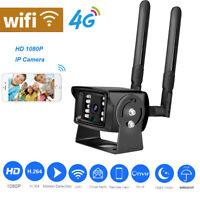 1080P 4G SIM Card IP Wireless Wifi ONVIF HD IR  Outdoor Camera  4G For Car Home