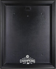 2016 World Series Chicago Cubs Champions Baseball Jersey Display Case - Black