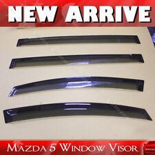 Mazda 5 2011-2016 Window Visor Vent Sun Shade Rain Guard 4pcs