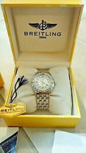BREITLING ANTARES World GMT B32047 Vintage Men's Watch w/ Box & Papers  - RARE!