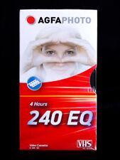 AGFA 2x VHS Kassette E-240  NEU  Videokassette E 240