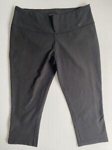 Nike Size L Women Activewear Pants - Dri-Fit leggings 3/4 Length