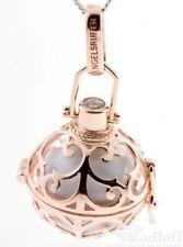 Engelsrufer Angänger Silber mit Klangkugel ER-01-SR  weiß, klein (16mm) rosé ver