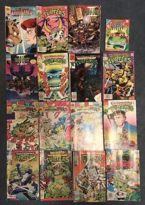 TMNT Adventures Comic Book Archie Comics Teenage Mutant Ninja Turtles Lot Of 16