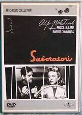 SABOTATORI - ALFRED HITCHCOCK - DVD N.00751