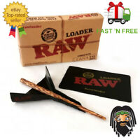 RAW Cone Loader - Cone Rolling Papers Filler & Scoop Card w/ Pre Rolled Cones