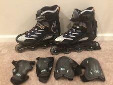 Men's Rollerblade Zetrablade Inline Skates Size 11 W/Bio Dynamic Shock Eraser