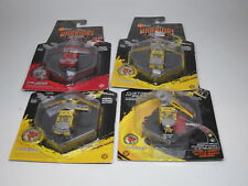 LOT 4 Hexbug Warriors Battling Robots Caldera Tronikon S14B S11B S11C Red Yellow