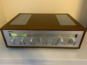 Yamaha CR-620 Receiver with case - 70s era, excellent condition