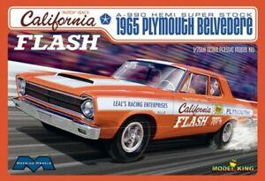 Moebius 1/25 California Flash 1965 Plymouth Belvedere A990 Hemi Super Stock