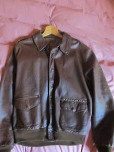 RareType A-2 Leather Flight Jacket (horsehide) WW2