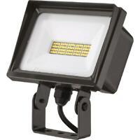 Lithonia Lighting QTE 40-Watt Dark Bronze Outdoor Integrated LED Flood Light