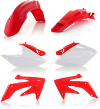 Acerbis Replacement Plastic Kit For Honda CRF250X 2004-2009 Red White 2040970206