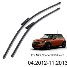 "XUKEY 19""18"" Front Windshield Wiper Blades Set For Mini Cooper R56 Hatch 2013"