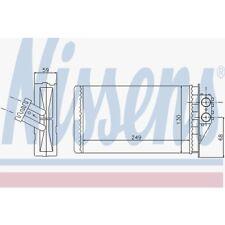 Nissens Wärmetauscher, Innenraumheizung Peugeot 307,307 Break,307 SW 72944