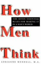 How Men Think by Adrienne Mendell (1996, Paperback)