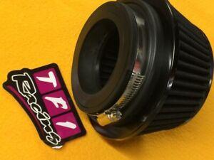 "76/89/102 mm Pod air filter 89 L Universal performance Black 3, 3.5, 4"" neck"
