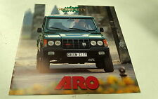 1995 ARO GREEN CITY Sales Brochure  FRANCE
