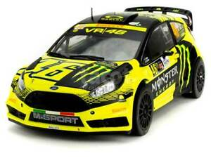 Ford Fiesta Rs WRC Monza Rally 2015 - Ixo 1/18