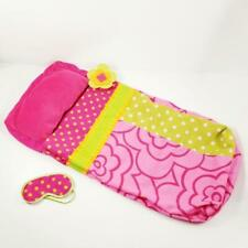 """Our Generation Sleeping Bag and Eye Mask for American Girl 18"""" Dolls Camping EUC"""