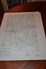 1940's Army topo map Newark  New York -Sheet 5570 II SE