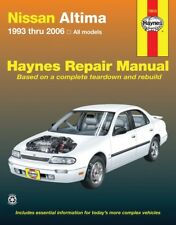 Repair Manual Haynes 72015 fits 93-06 Nissan Altima