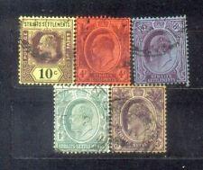 1904-10 Malaya Straits Settlements King Edward III