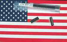 5pcs LTV847 LTV-847 DIP-16 Quad Optocoupler Photocoupler High Density, US Seller
