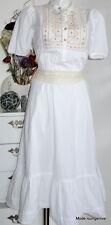 NOA NOA Tunika Kleid S 36 Estbury cotton white weiß Baumwolle cotton dress