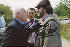 EMMERDALE: CHRIS CHITTELL 'ERIC POLLARD' SIGNED 6x4 ACTION PHOTO+COA