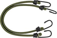 """10 x New 12"""" Olive Bungees Camping BUNGEE ELASTIC HOOKS STRAPS"""