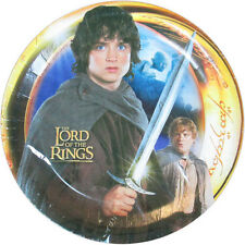 LORD OF THE RINGS SMALL PAPER PLATES (8) ~ Birthday Party Supplies Cake Dessert